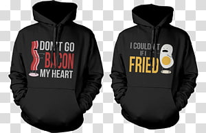 Hoodie T-shirt Clothing Bluza couple, Funny Couple PNG
