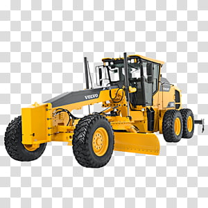 AB Volvo Grader Volvo Construction Equipment Heavy Machinery Backhoe loader, Construction machinery PNG clipart