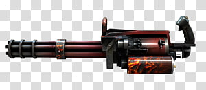 CrossFire Gatling gun Machine gun Firearm, machine gun PNG clipart