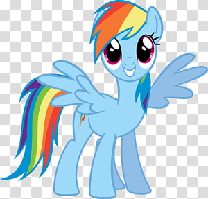 Rainbow Dash Twilight Sparkle Pinkie Pie Rarity Applejack, Little Pony Rainbow Dash PNG clipart