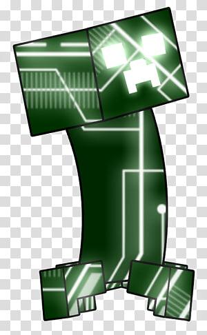 Minecraft Creeper Mojang Cyborg, creeper PNG