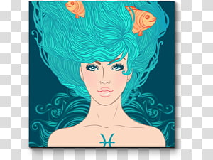 Pisces Astrological sign Zodiac Astrology, zodiac signs PNG clipart