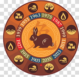Chinese zodiac Tiger Rabbit Chinese New Year Chinese astrology, tiger PNG clipart