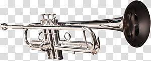Trumpet Trombone Brass Instruments, Trumpet PNG