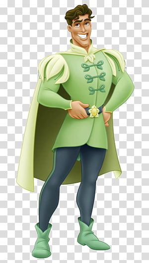 Prince in green suit illustration, Prince Naveen The Princess and the Frog Tiana Disney Princess Film, The Little Prince PNG clipart
