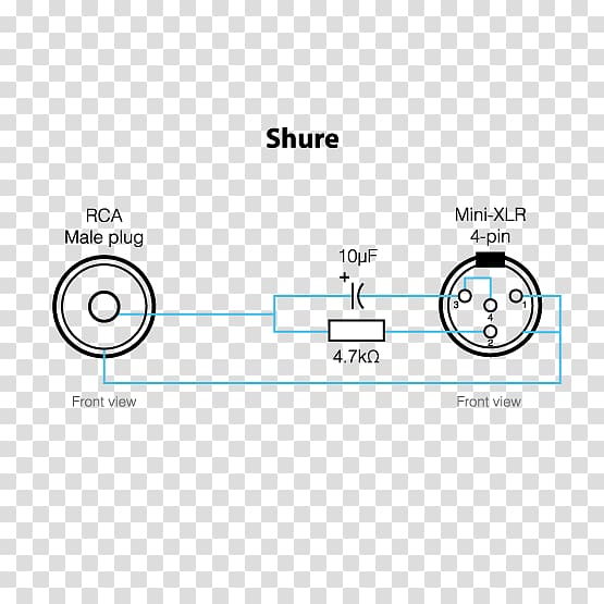 Microphone Shure Sm58 Xlr Connector Wiring Diagram Pinout  Xlr Connector Png