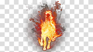 red flame horse , Horse Flame Fire , Fire Horse PNG