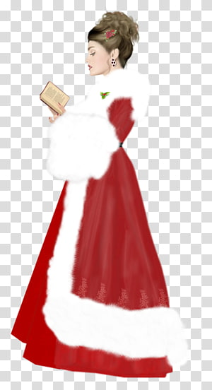 Santa Claus Christmas ornament Gown, new year PNG