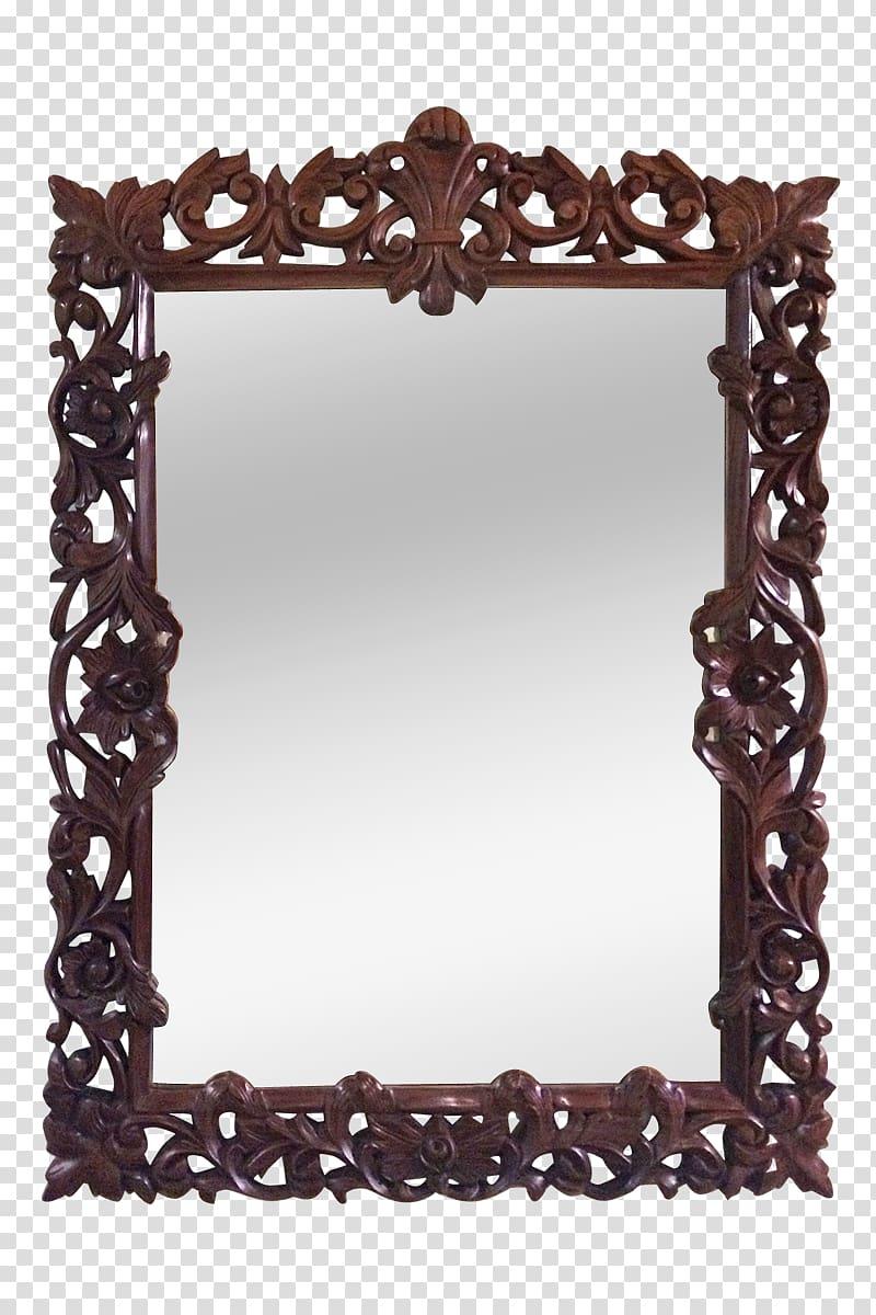 Frames Rectangle , carved wood vases PNG