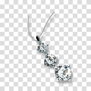 Necklace Diamond Pendant, diamond PNG
