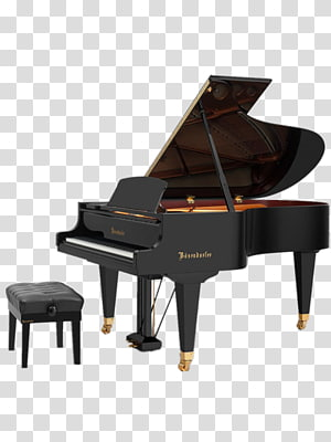 large black piano PNG