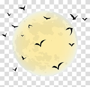 Halloween Desktop , moon PNG clipart