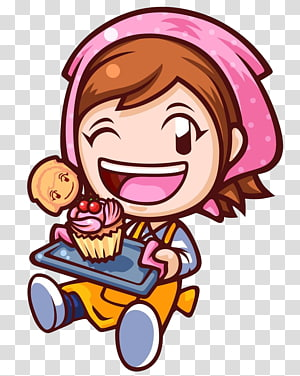 baker with cupcake , Cooking Mama: Cook Off Cooking Mama 4: Kitchen Magic Cooking Mama 3: Shop & Chop, Cooking PNG clipart