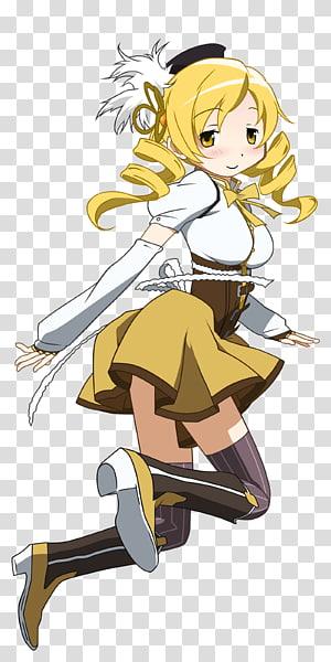 Mami Tomoe Homura Akemi Sayaka Miki Sailor Venus Kyubey, Mami PNG clipart