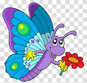 Butterfly Coloring book Drawing , pink cartoon PNG