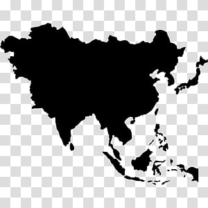 East Asia World map World map Blank map, map PNG clipart