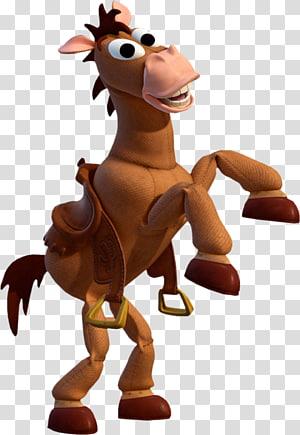 Bullseye Jessie Sheriff Woody Horse Buzz Lightyear, toy story cartoon, Toy Story horse illustration PNG clipart