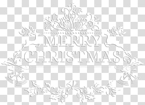 Merry Christmas , Paper Black and white Pattern, Merry Christmas White PNG