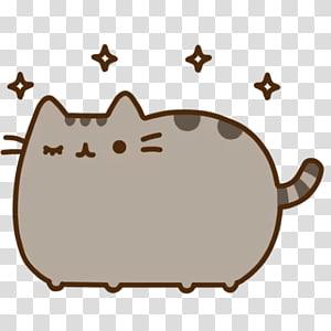 brown cat illustration, Grumpy Cat Pusheen Cuteness, Cat PNG