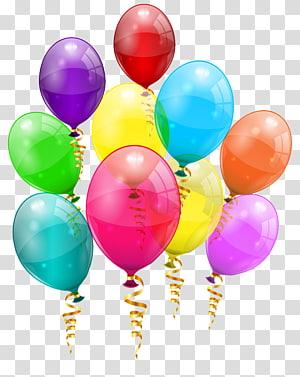 Birthday Balloon , pink balloon PNG clipart