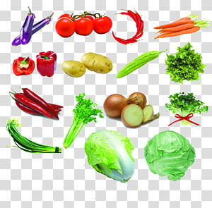 Vegetable Fruit Strawberry, Fresh fruits and vegetables PNG