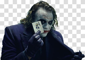 The Dark Knight Trilogy Joker Heath Ledger Batman, joker PNG clipart