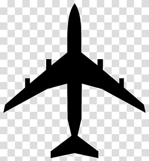 Airplane Silhouette , book Silhouette PNG