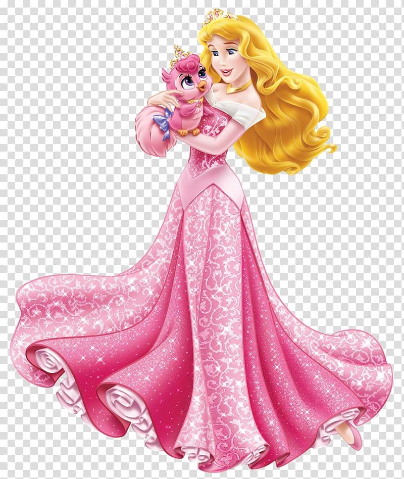 Princess Aurora Cinderella Ariel Rapunzel Snow White, Disney Princess Aurora with Cute Bird , Princess Aurora illustration PNG clipart