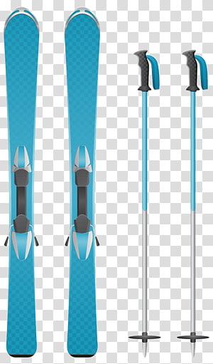 Alpine skiing Ski Poles , icicles PNG