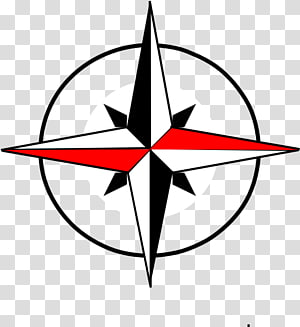 North Compass rose West , compass PNG