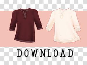 Blouse T-shirt Band collar, Shirt Collar PNG