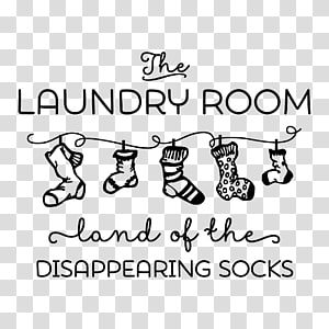Wall decal Sticker Laundry, design PNG clipart