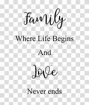 Quotation Family tree Life Love, quote PNG clipart