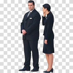 man in formal suit coat, Security Company Business, Business People s PNG