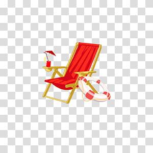 Deckchair Beach Furniture, Seat PNG clipart