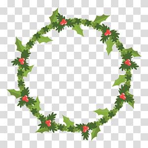 Wreath Christmas , corona PNG clipart