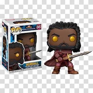 Funko Pop! Marvel: Thor Ragnarok, Heimdall Funko Pop! Marvel: Thor Ragnarok, Heimdall Hela Hulk, sold out pop PNG clipart