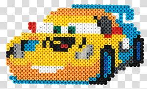 Mater Lightning McQueen Cars Donald Duck Bead, Bead Weaving PNG clipart