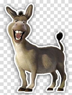 Donkey Princess Fiona Shrek The Musical Lord Farquaad, Burro PNG