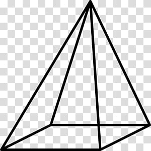 Square pyramid Solid geometry Cone Rectangle, ok PNG