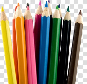 Colored pencil Colored pencil Stationery, eraser PNG clipart