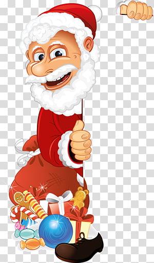 Santa Claus Christmas , sant claus PNG clipart