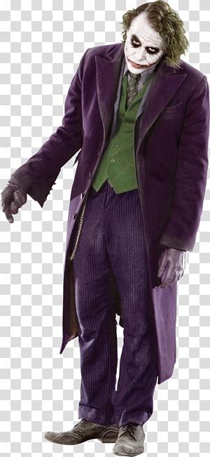The Joker wearing purple coat illustration, Joker Batman The Dark Knight Trilogy Actor, joker PNG clipart