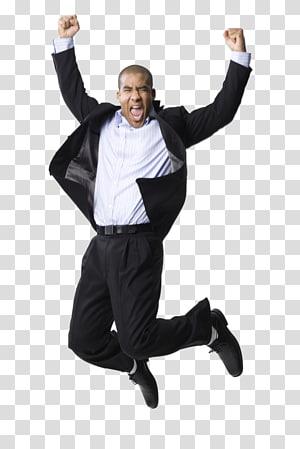 Businessperson Jumping Advertising Job interview, jump PNG