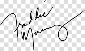 Autograph Innuendo A Night at the Opera Queen, freddie mercury PNG