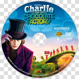 Charlie and the Chocolate Factory Willy Wonka DVD Johnny Depp, Charlie And The Chocolate Factory PNG clipart