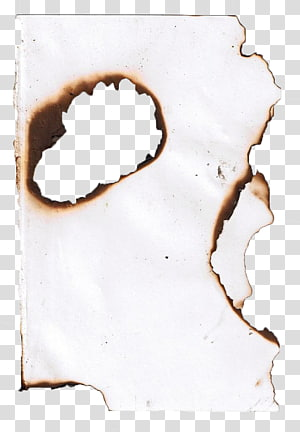 burned paper PNG clipart