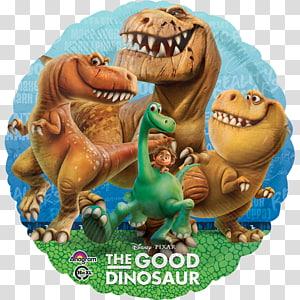 Balloon Children\'s party Birthday Dinosaur, balloon PNG clipart
