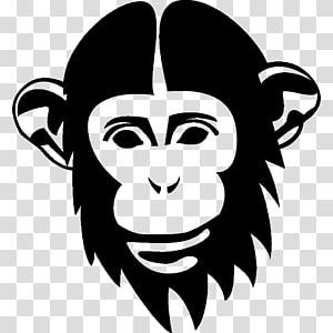 Chimpanzee Orangutan Drawing Monkey, orangutan PNG