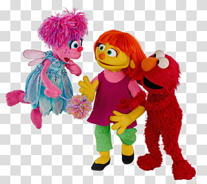 Julia Abby Cadabby Sesame Place Elmo Sesame Street characters, child PNG clipart